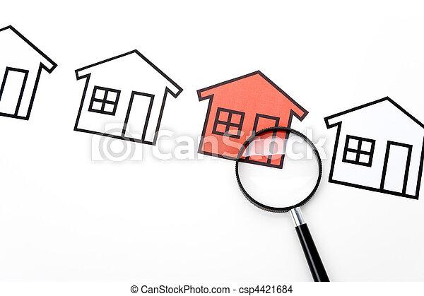 Real Estate Concept - csp4421684