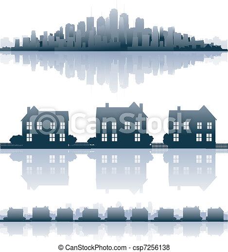 Real estate - csp7256138