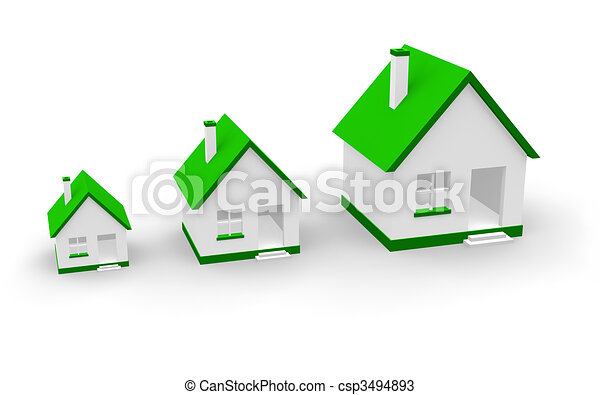 Real estate growth concept - csp3494893
