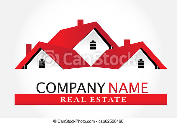 Real estate house logo - csp62528466
