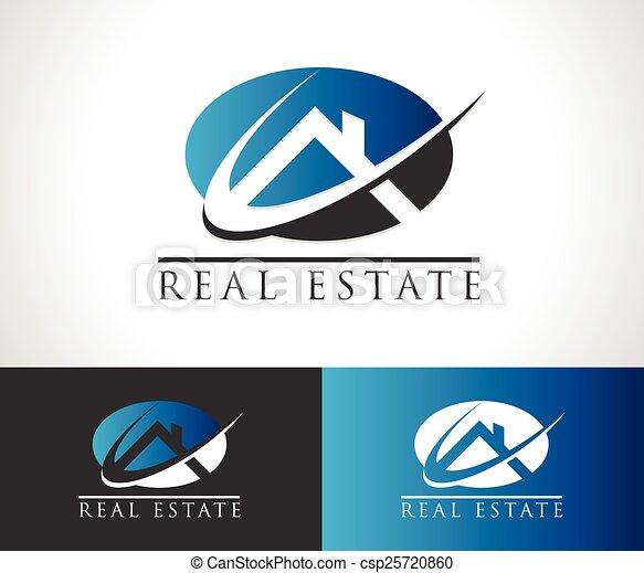 Real Estate House Logo Icon - csp25720860