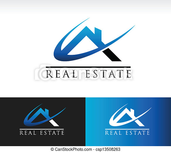 Real Estate House Roof Icon - csp13508263