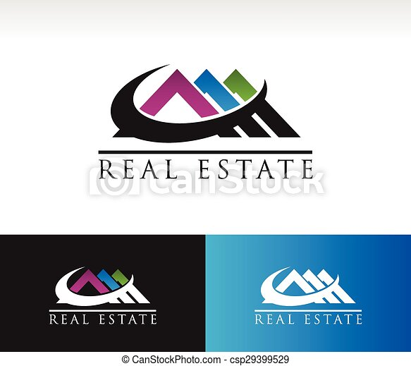 Real Estate House Roof Icon - csp29399529