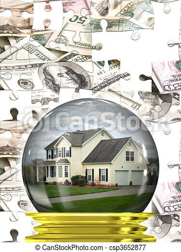 Real Estate Housing Market - csp3652877