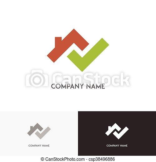 Real estate logo 2 - csp38496886