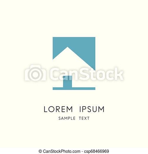 Real estate logo - csp68466969