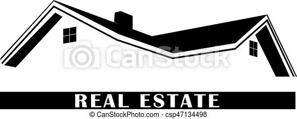 Real estate logo - csp47134498