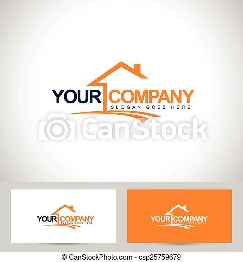 Real Estate Logo - csp25759679