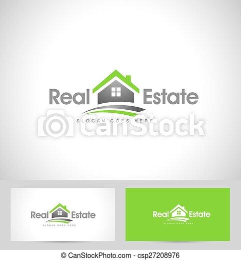 Real Estate Logo - csp27208976