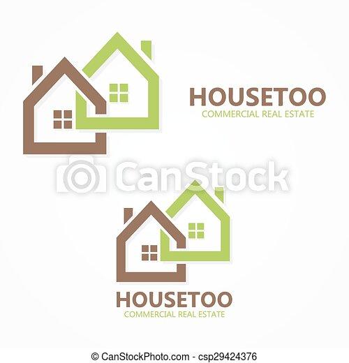 Real estate logo or icon - csp29424376