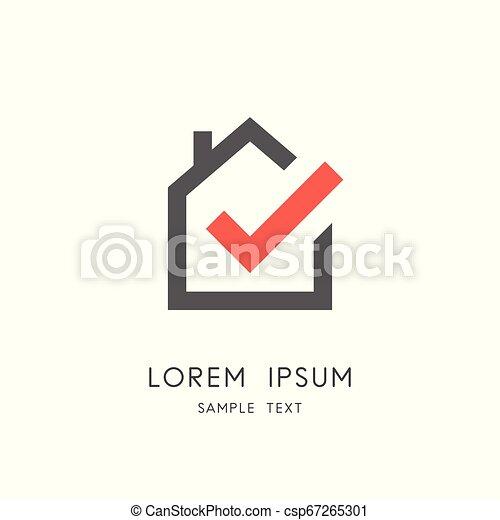 Real estate logo - csp67265301