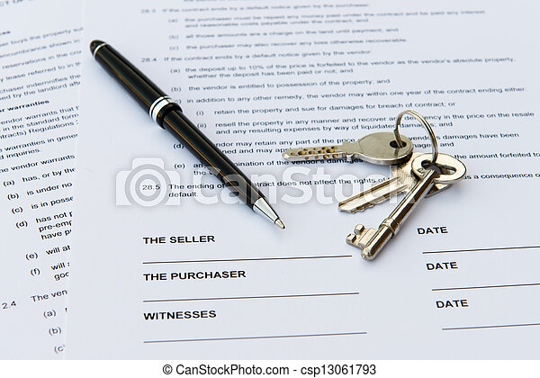 Real estate sale - csp13061793