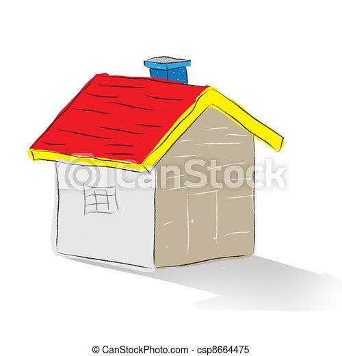 Real estate   - csp8664475
