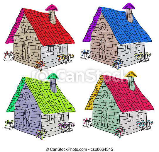 Real estate   - csp8664545