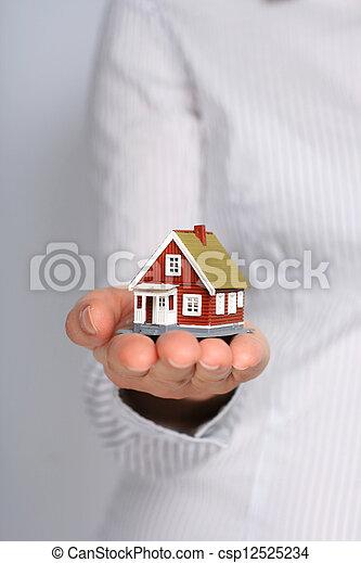 Real estate. - csp12525234
