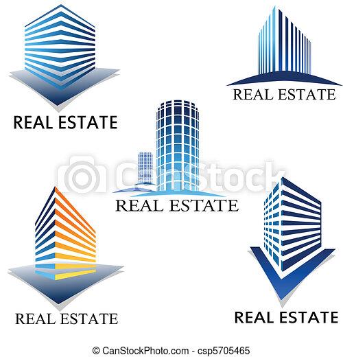 Real estate symbol - csp5705465