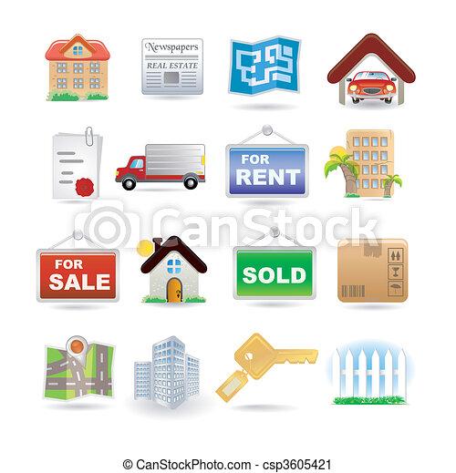 real estate - csp3605421