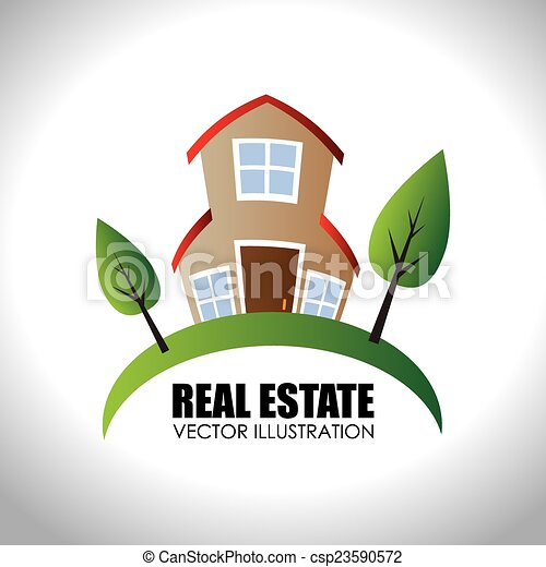 Real estate vector illustration