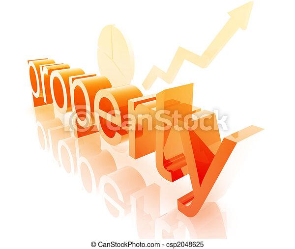 real, melhorar, propriedade, propriedade - csp2048625