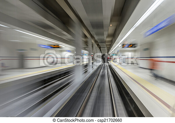 Real tunnel with high speed - csp21702660