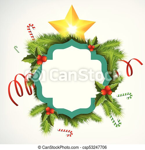 picture regarding Christmas Wreath Printable identify Affordable Xmas Wreath Template