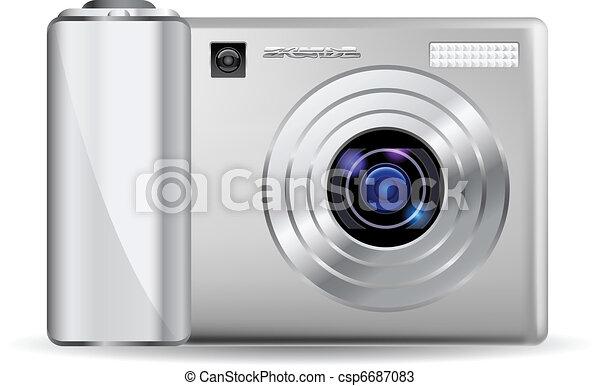 Realistic digital camera - csp6687083