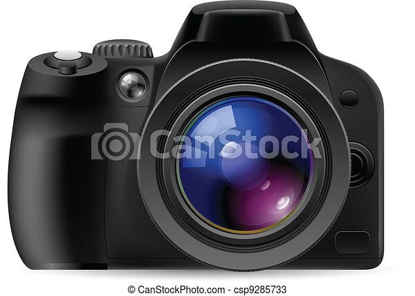 Realistic digital camera - csp9285733