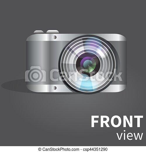 Realistic digital photo camera - csp44351290