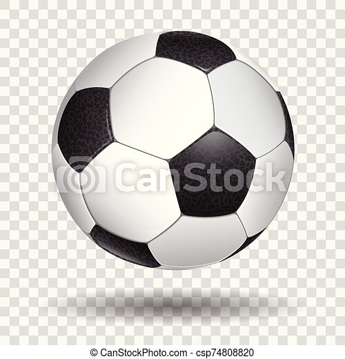 Realistic Soccer Ball - csp74808820