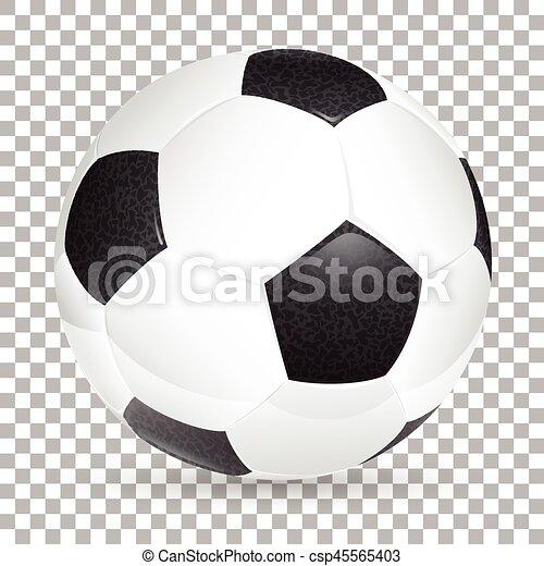 Realistic Soccer Ball - csp45565403