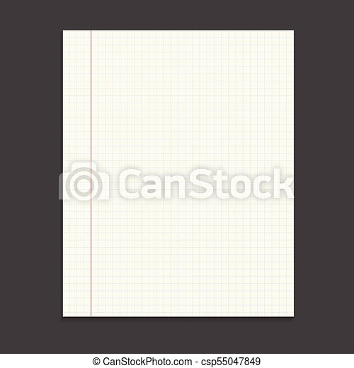 Realistic Template Notepad With Spiral Blank Cover Design School Business Diary Office Stationery