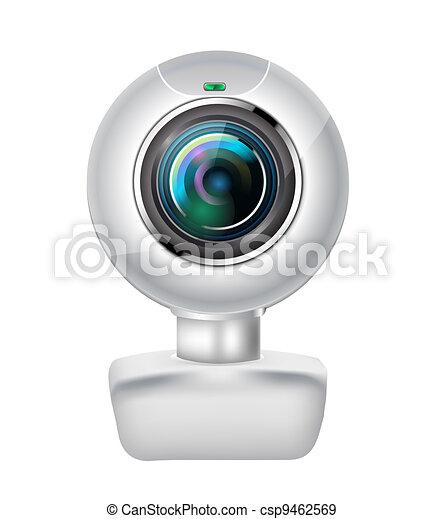 realistic webcam - csp9462569