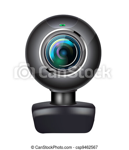 realistic webcam - csp9462567