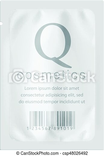 Realistic White template Packaging - csp48026492