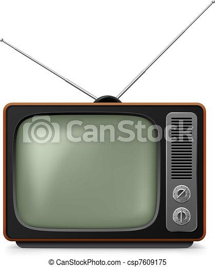 realistico, tv., vendemmia - csp7609175