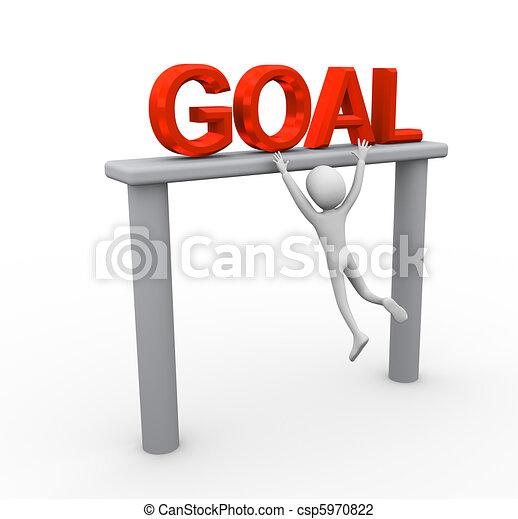 Alcanzando gol - csp5970822
