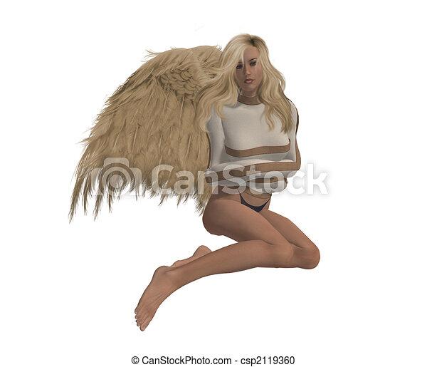 rebel angel rebel angel in a straight jacket sitting down