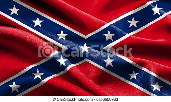 Rebel flag. - csp6608963