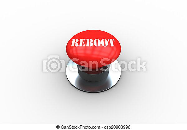 Reboot on digitally generated red push button - csp20903996