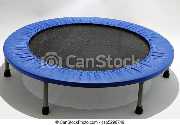 Rebounder, Mini Trampoline - csp5298749