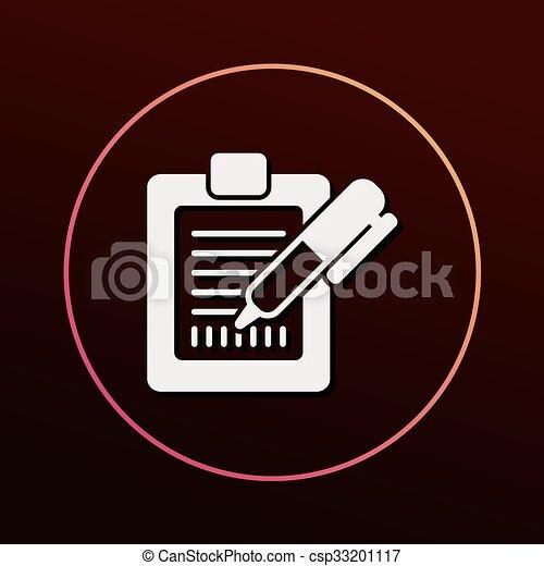 Receipt icon - csp33201117