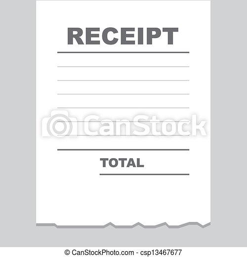 Receipt Printout  - csp13467677