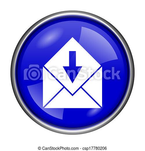 Receive e-mail icon - csp17780206