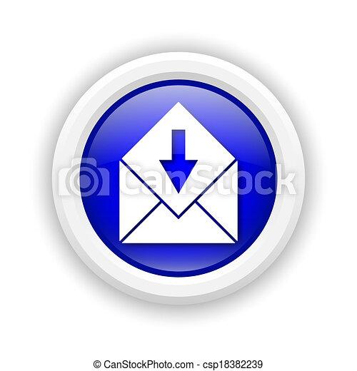 Receive e-mail icon - csp18382239