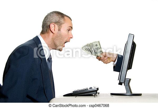 receiving money - csp0467068