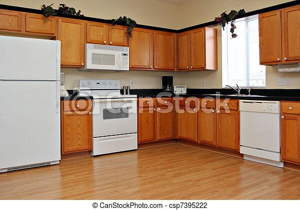 recentemente, finito, cucina - csp7395222