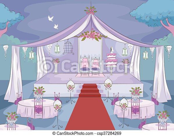 Noche de bodas - csp37284269