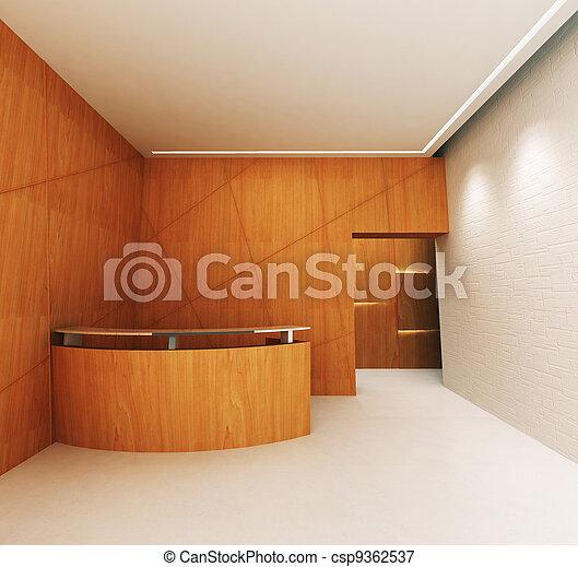 Reception Area - csp9362537