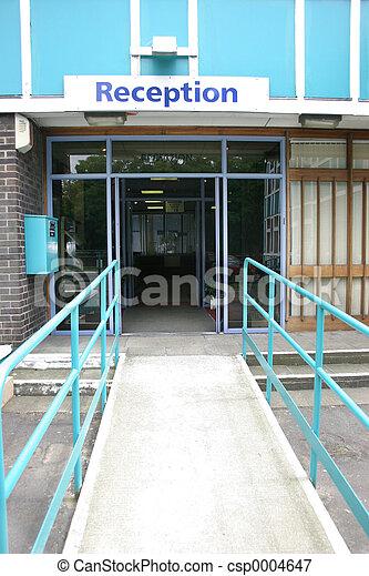 Reception Entrance - csp0004647
