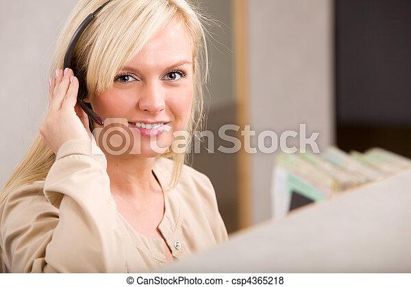 Receptionist - csp4365218